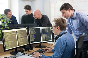 Developers performing security testing