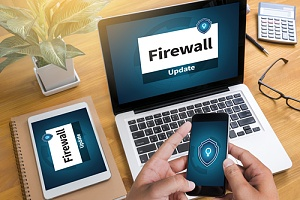 Firewall software on devices